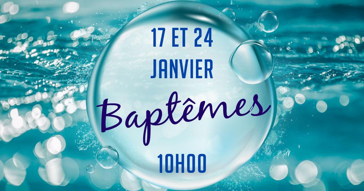 Services de baptême